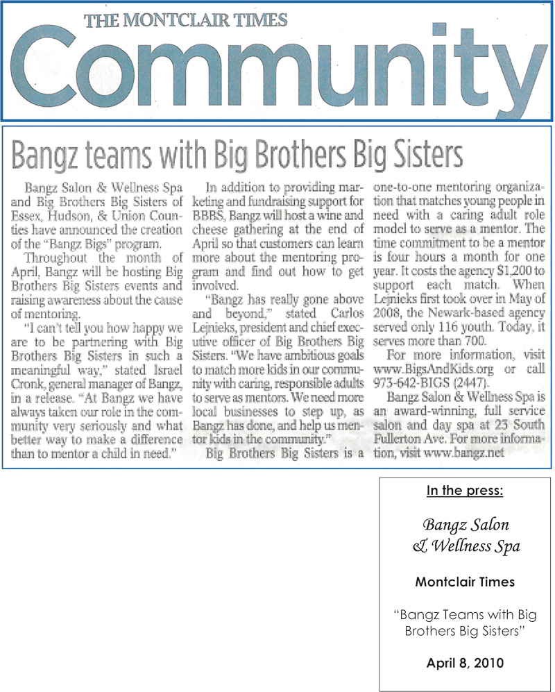 Montclair Times April 8 2010