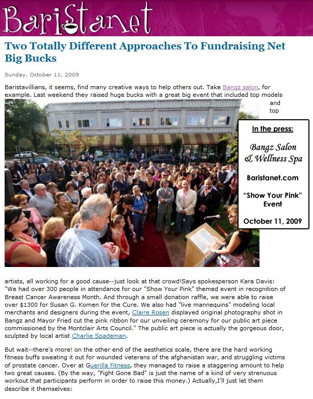 Baristanet.com October 11, 2009