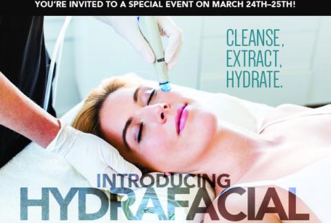 HydraFacial Special Event