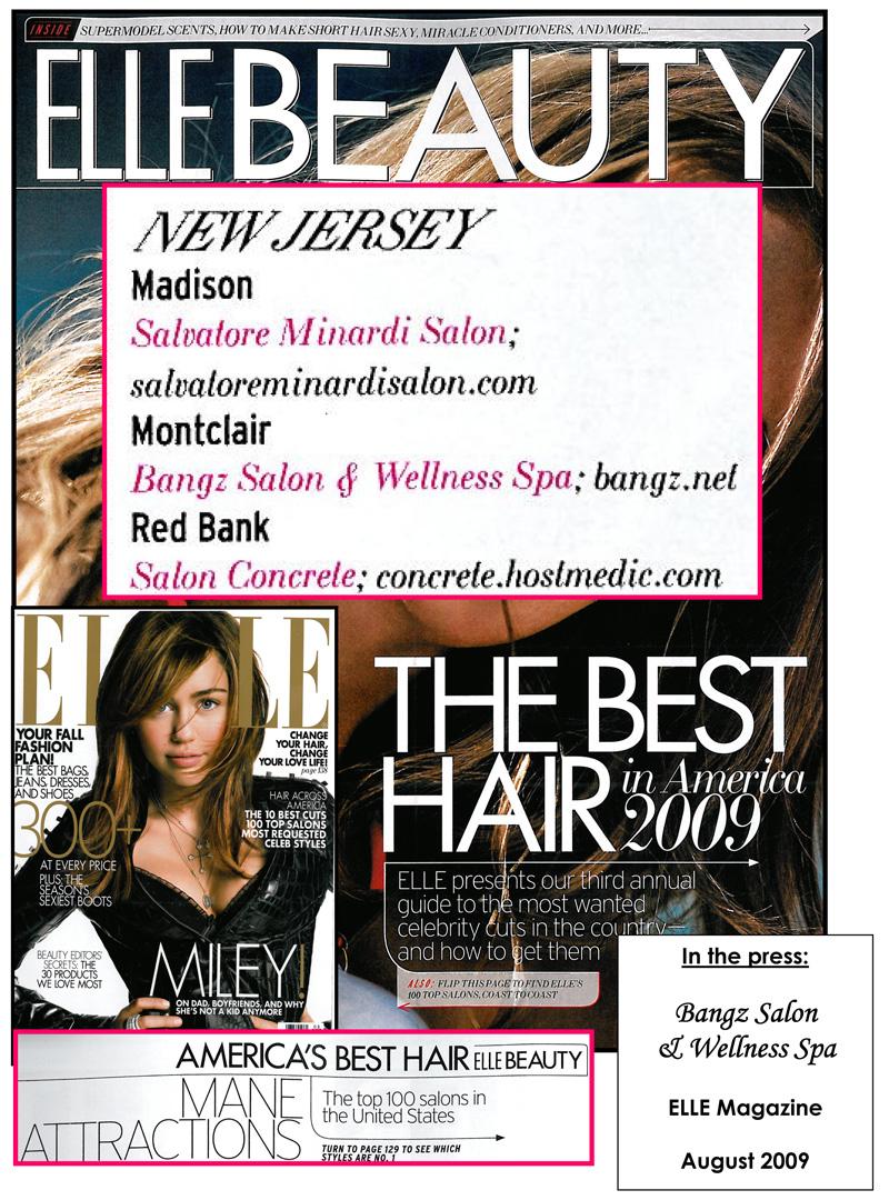 ELLE Magazine August 2009