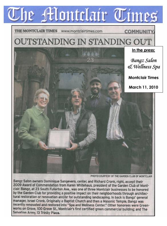Montclair Times March 2010