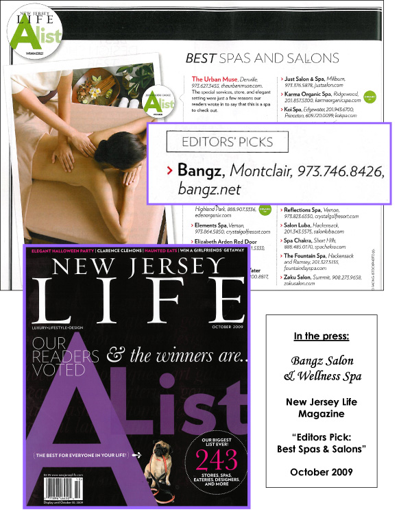 New Jersey Life Magazine October 2009