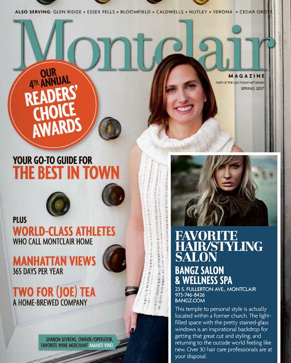 Montclair Magazine - Spring 2017 - Best Salon Hair/Styling