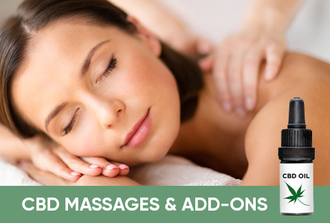 Introducing CBD Massages and Add-ons
