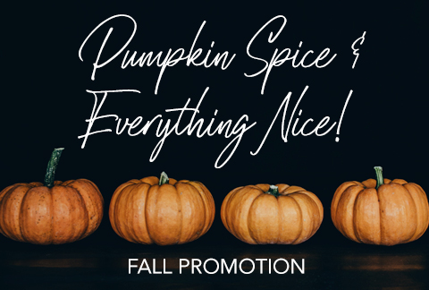 Fall 2019 Special Promotion
