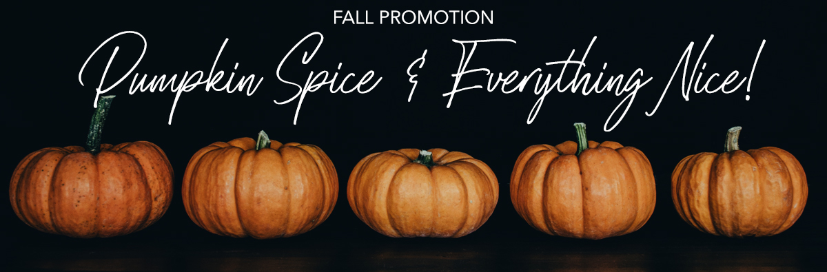 Fall Special Promotion